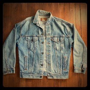 Vintage Levi's Denim Trucker Jean Jacket size XL